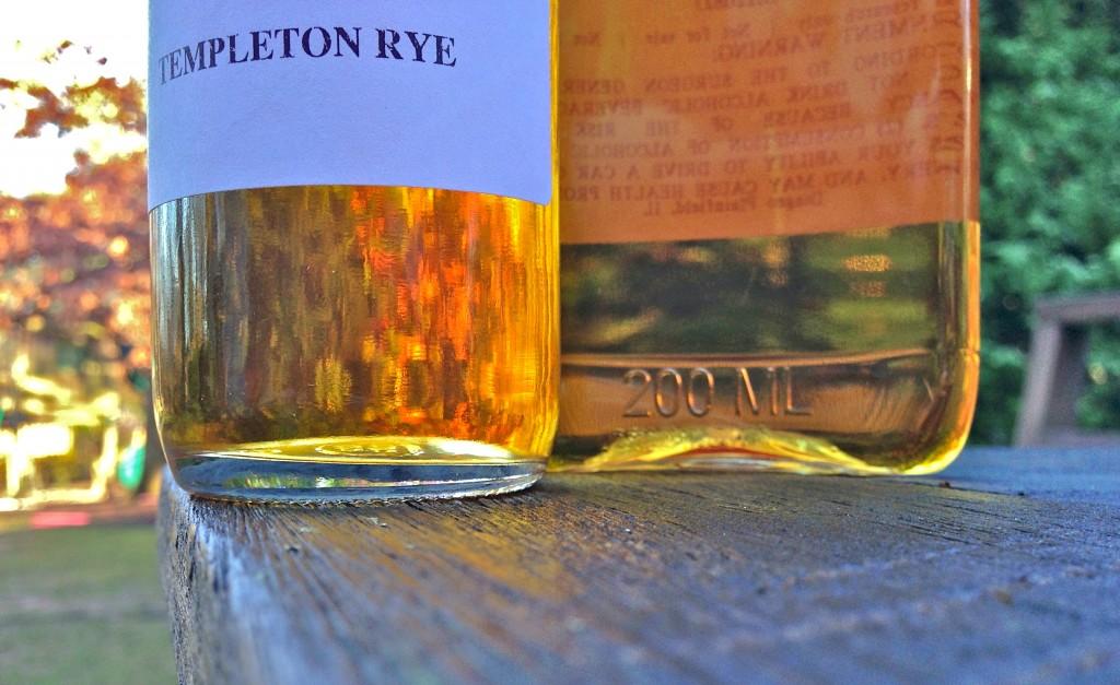 Templeton Rye and Dickel Rye