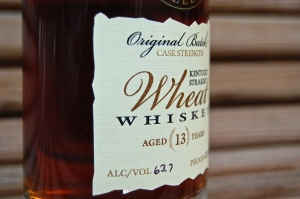 Parker's Heritage Collection 2014 Wheat Whiskey Label